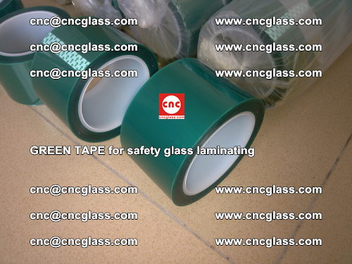 Green Tape for safety glass laminating, EVA FILM, PVB FILM, SGP FILM (22)