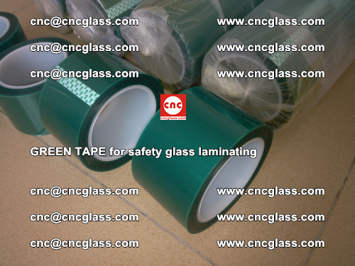 Green Tape for safety glass laminating, EVA FILM, PVB FILM, SGP FILM (23)
