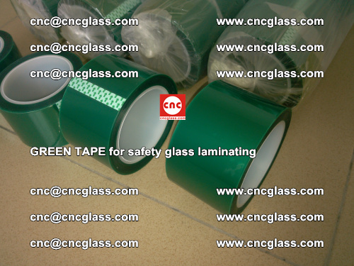 Green Tape for safety glass laminating, EVA FILM, PVB FILM, SGP FILM (24)