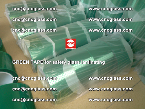 Green Tape for safety glass laminating, EVA FILM, PVB FILM, SGP FILM (26)