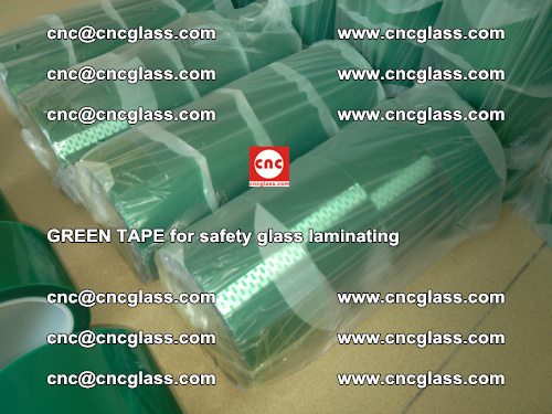 Green Tape for safety glass laminating, EVA FILM, PVB FILM, SGP FILM (27)