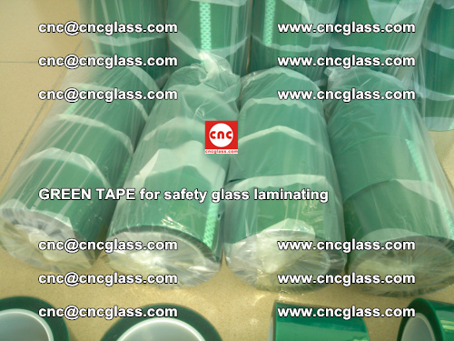 Green Tape for safety glass laminating, EVA FILM, PVB FILM, SGP FILM (28)