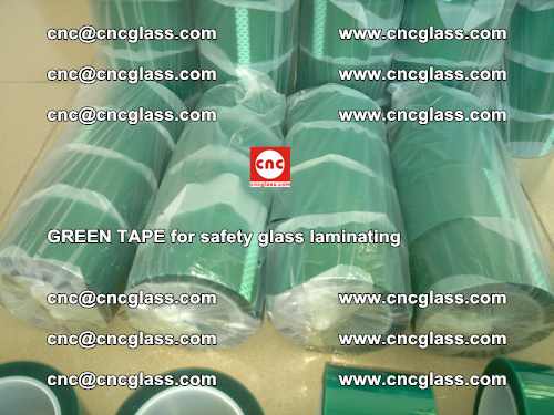 Green Tape for safety glass laminating, EVA FILM, PVB FILM, SGP FILM (29)