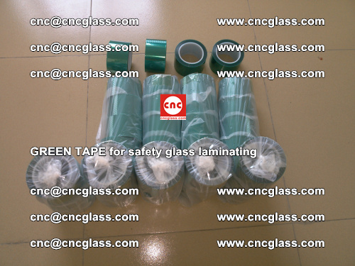 Green Tape for safety glass laminating, EVA FILM, PVB FILM, SGP FILM (3)