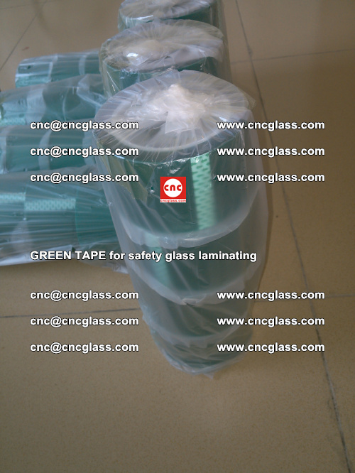 Green Tape for safety glass laminating, EVA FILM, PVB FILM, SGP FILM (32)
