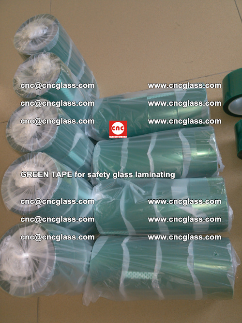 Green Tape for safety glass laminating, EVA FILM, PVB FILM, SGP FILM (37)