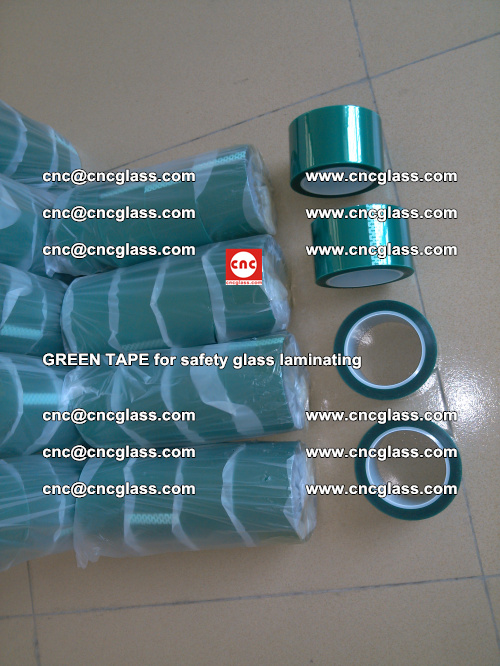 Green Tape for safety glass laminating, EVA FILM, PVB FILM, SGP FILM (38)