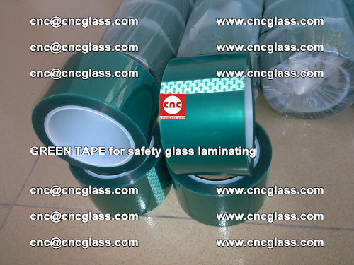 Green Tape for safety glass laminating, EVA FILM, PVB FILM, SGP FILM (42)