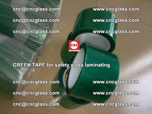 Green Tape for safety glass laminating, EVA FILM, PVB FILM, SGP FILM (43)