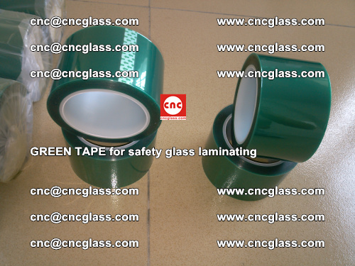 Green Tape for safety glass laminating, EVA FILM, PVB FILM, SGP FILM (44)