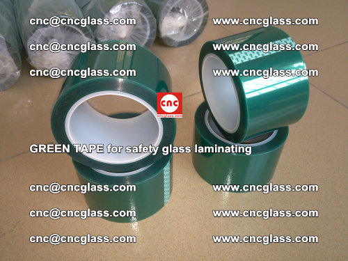 Green Tape for safety glass laminating, EVA FILM, PVB FILM, SGP FILM (49)