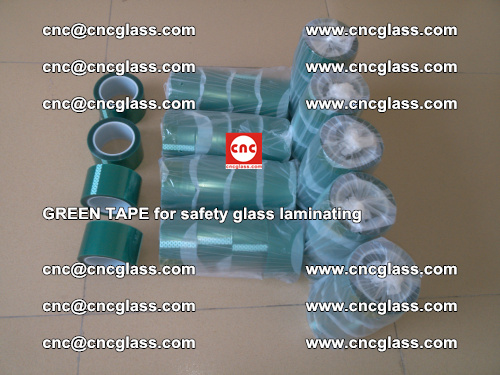 Green Tape for safety glass laminating, EVA FILM, PVB FILM, SGP FILM (5)