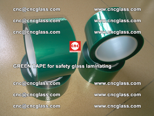 Green Tape for safety glass laminating, EVA FILM, PVB FILM, SGP FILM (52)