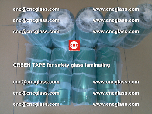 Green Tape for safety glass laminating, EVA FILM, PVB FILM, SGP FILM (54)
