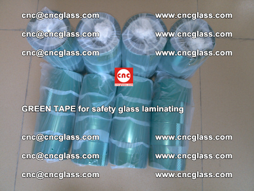 Green Tape for safety glass laminating, EVA FILM, PVB FILM, SGP FILM (55)