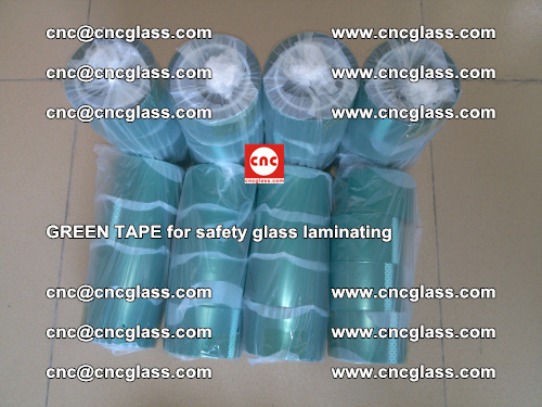 Green Tape for safety glass laminating, EVA FILM, PVB FILM, SGP FILM (58)
