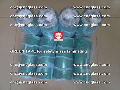 Green Tape for safety glass laminating, EVA FILM, PVB FILM, SGP FILM (59)