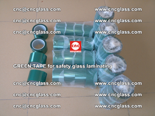 Green Tape for safety glass laminating, EVA FILM, PVB FILM, SGP FILM (6)