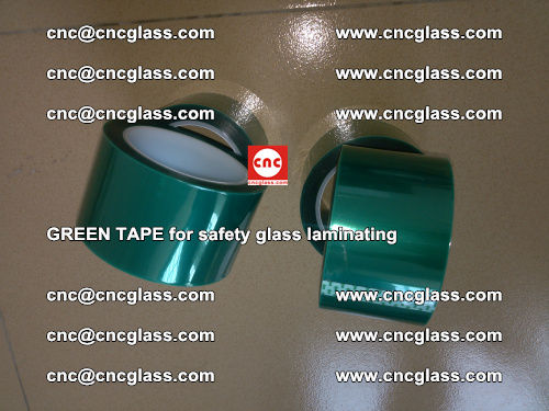 Green Tape for safety glass laminating, EVA FILM, PVB FILM, SGP FILM (60)