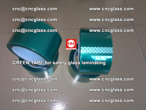 Green Tape for safety glass laminating, EVA FILM, PVB FILM, SGP FILM (61)