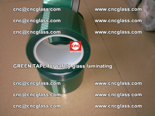 Green Tape for safety glass laminating, EVA FILM, PVB FILM, SGP FILM (62)