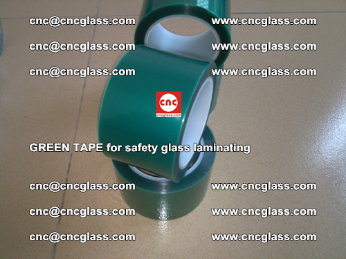 Green Tape for safety glass laminating, EVA FILM, PVB FILM, SGP FILM (65)