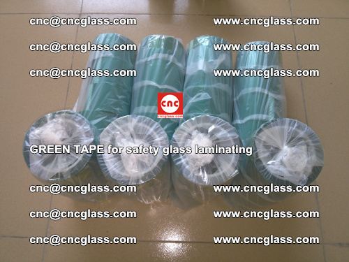 Green Tape for safety glass laminating, EVA FILM, PVB FILM, SGP FILM (67)