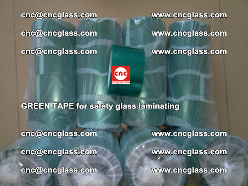 Green Tape for safety glass laminating, EVA FILM, PVB FILM, SGP FILM (68)