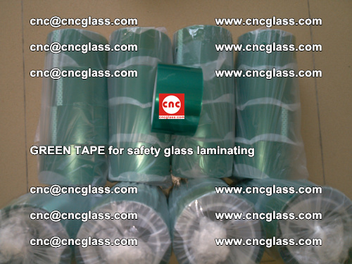 Green Tape for safety glass laminating, EVA FILM, PVB FILM, SGP FILM (69)