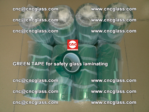 Green Tape for safety glass laminating, EVA FILM, PVB FILM, SGP FILM (71)