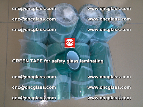 Green Tape for safety glass laminating, EVA FILM, PVB FILM, SGP FILM (73)