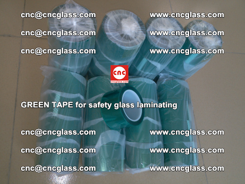 Green Tape for safety glass laminating, EVA FILM, PVB FILM, SGP FILM (74)