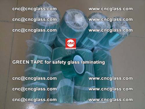 Green Tape for safety glass laminating, EVA FILM, PVB FILM, SGP FILM (76)