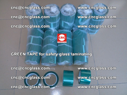 Green Tape for safety glass laminating, EVA FILM, PVB FILM, SGP FILM (8)