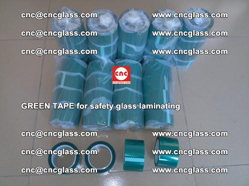 Green Tape for safety glass laminating, EVA FILM, PVB FILM, SGP FILM (9)