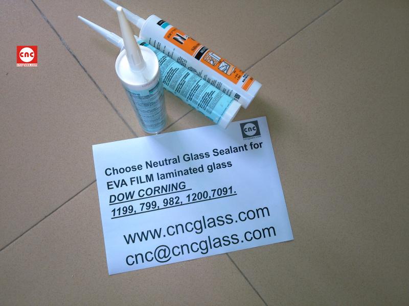 Neutral Glass Sealant for EVA FILM laminated glass (2)