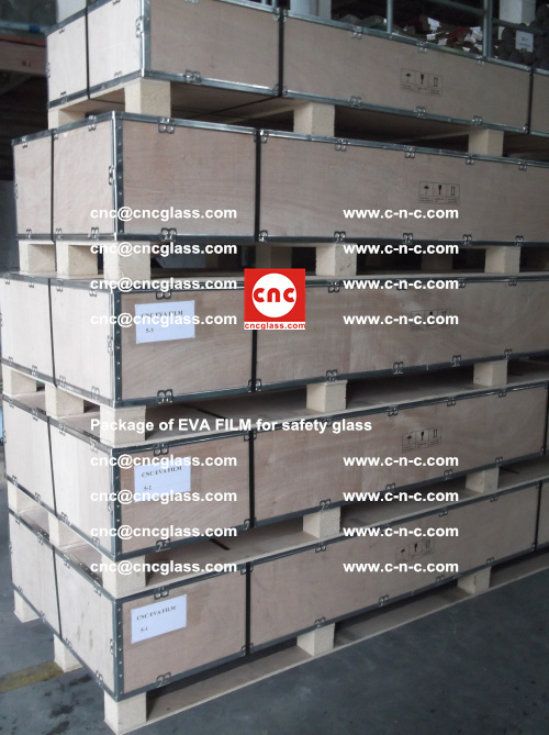 Package of EVA Film for safety laminated glass (10)