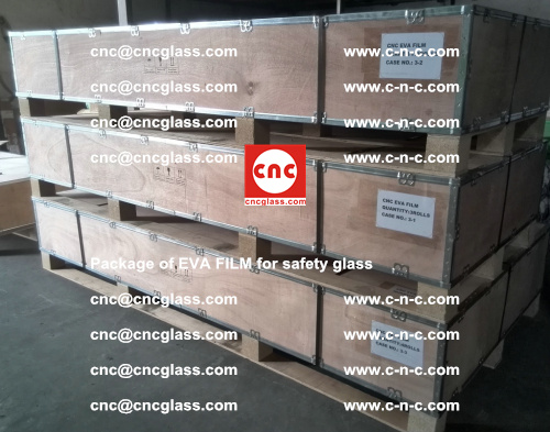 Package of EVA Film for safety laminated glass (1)