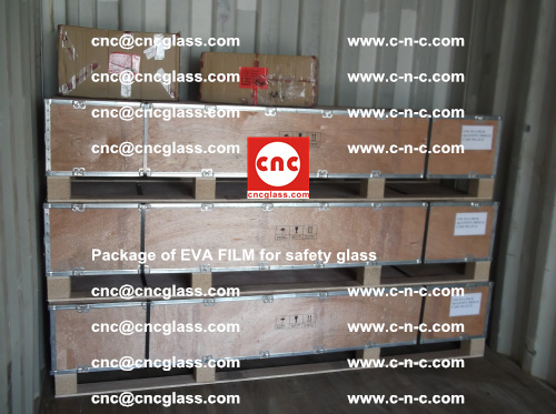 Package of EVA Film for safety laminated glass (12)