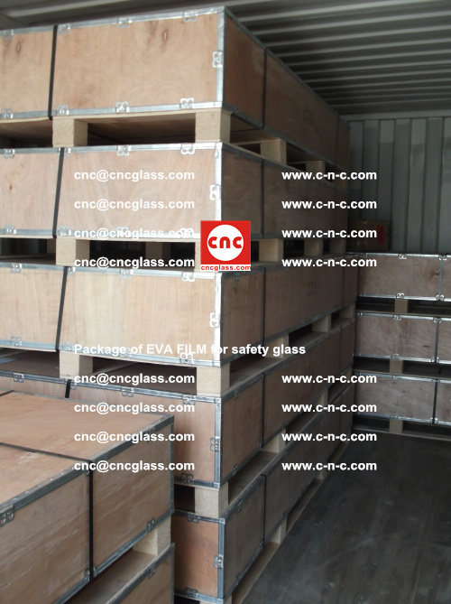 Package of EVA Film for safety laminated glass (13)