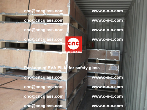 Package of EVA Film for safety laminated glass (14)