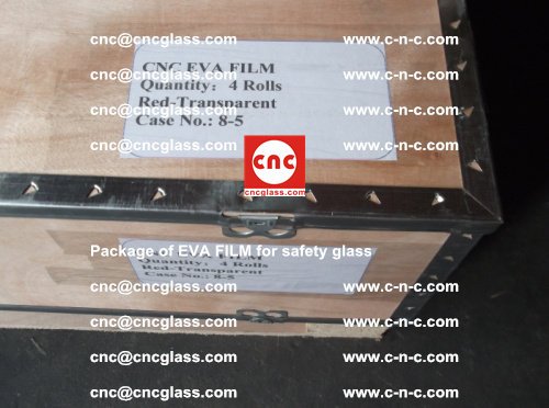Package of EVA Film for safety laminated glass (21)