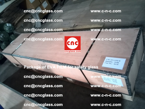 Package of EVA Film for safety laminated glass (23)
