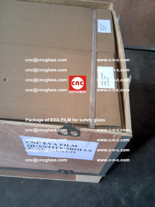 Package of EVA Film for safety laminated glass (25)