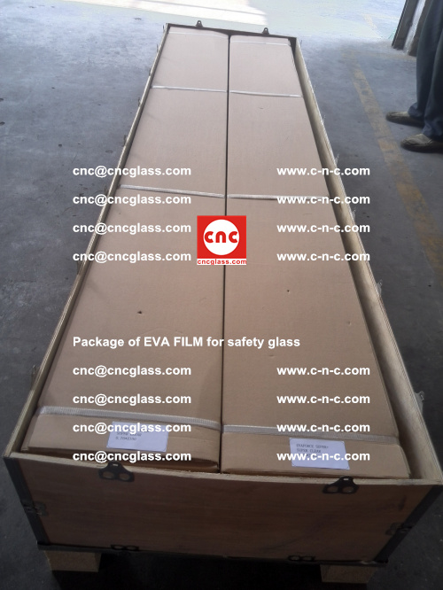 Package of EVA Film for safety laminated glass (27)