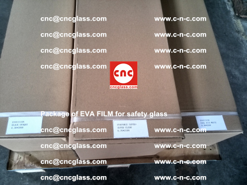 Package of EVA Film for safety laminated glass (29)