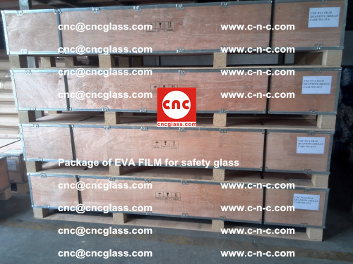 Package of EVA Film for safety laminated glass (30)
