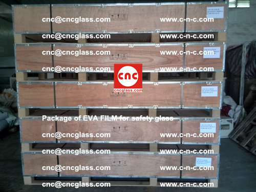 Package of EVA Film for safety laminated glass (31)