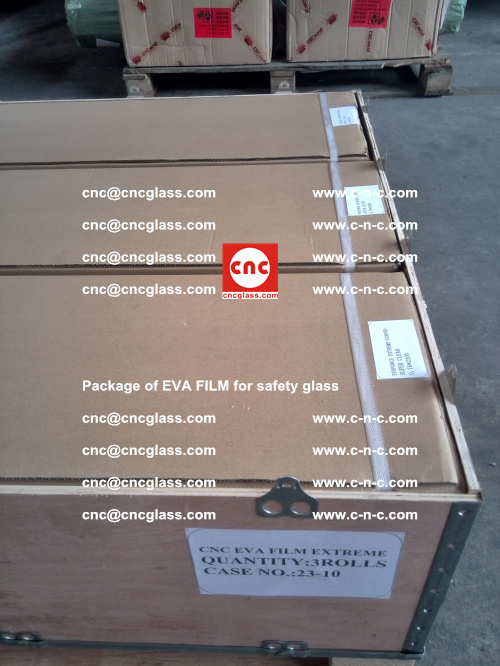 Package of EVA Film for safety laminated glass (32)