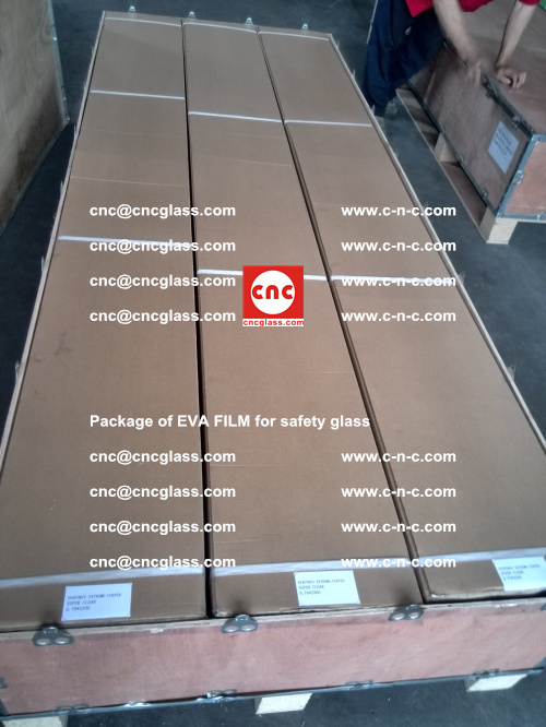Package of EVA Film for safety laminated glass (33)